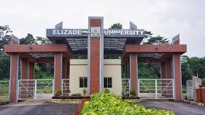 elizade university entrance gate