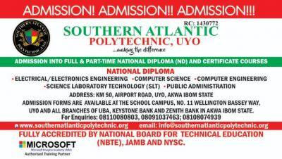 southern atlantic polytechnic admission