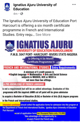 iaue french and international studies admission form